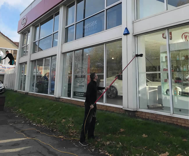 commercial window cleaning service bristol