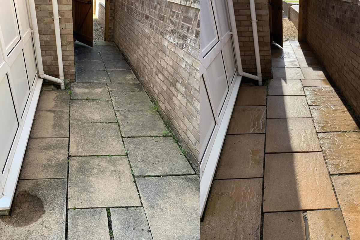 patio cleaning service bristol